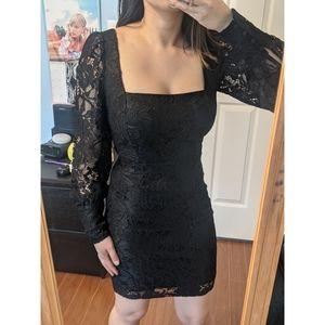 NWT DYN Long Sleeve Lace Dress